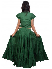 Green 25 yrd gypsy skirt - 25 yard skirts