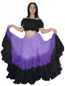 Halloween 25 yard tribal skirt with top