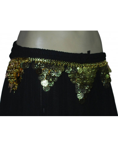 Halloween belly dance metal belt