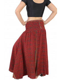 Indian Fusion Silk Umbrella Trouser Pants  20 Piece