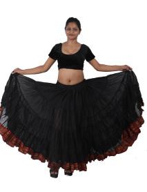 Jupe Cercle de Danse du ventre noir