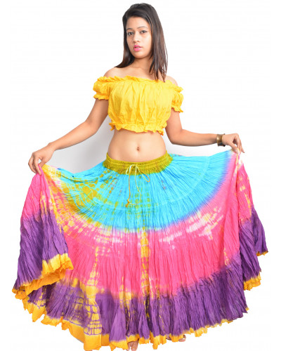Latin American tribal dance 25 yard skirt
