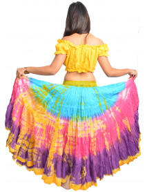 Latin American tribal dance 25 yard skirt
