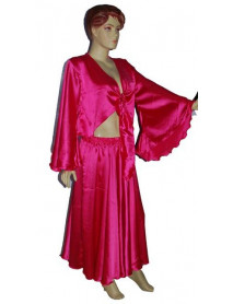 Satin Gypsy Top and Skirt set