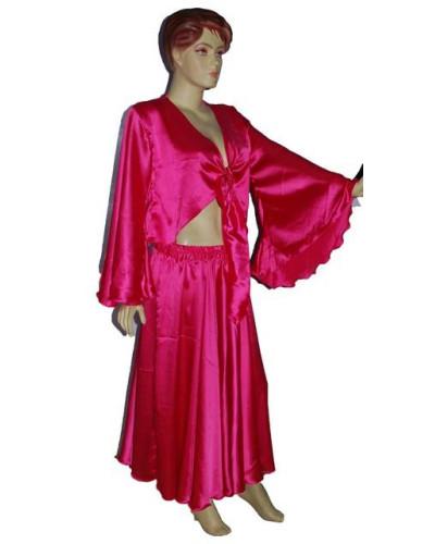 Satin Gypsy Top and Skirt set