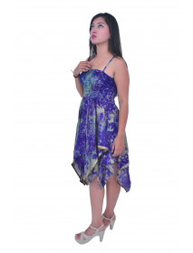 Silk Art Dress for Ladies 50 dress