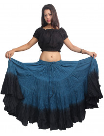 Theatrical tribal bellydance 25 yard skirt