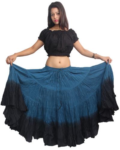 Theatrical tribal bellydance 25 yard skirt