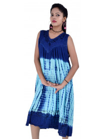 Tie Dye Casual Dresses for Women 100 Dress