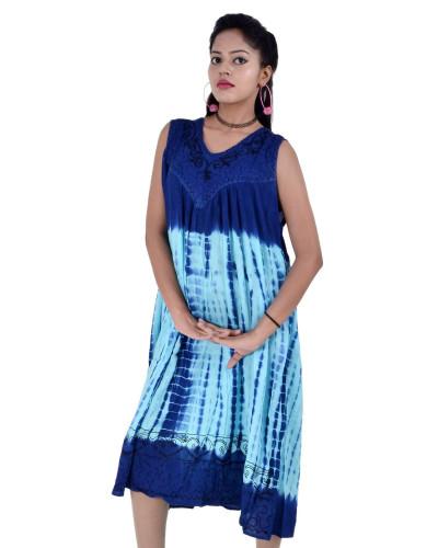 100 Dress Tie Dye Casual Dresses for Women 10 Dress