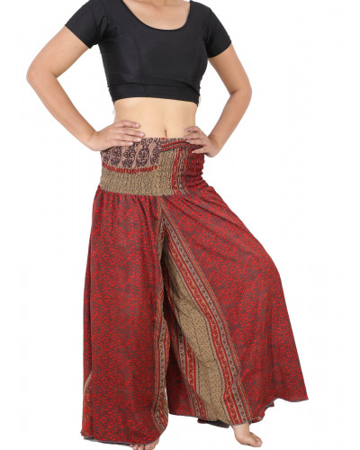 Traditional art silk palazzo pants 10 Piece