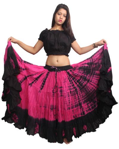 Tribal Belly dance tye dip dyed 25 yard skirt - store333