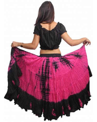 Tribal Belly dance tye dip dyed 25 yard skirt - store333