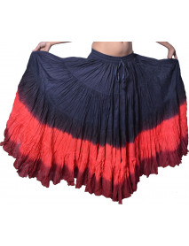 Tribal Belly Dancing gypsy 25 yrd skirt - Skirts
