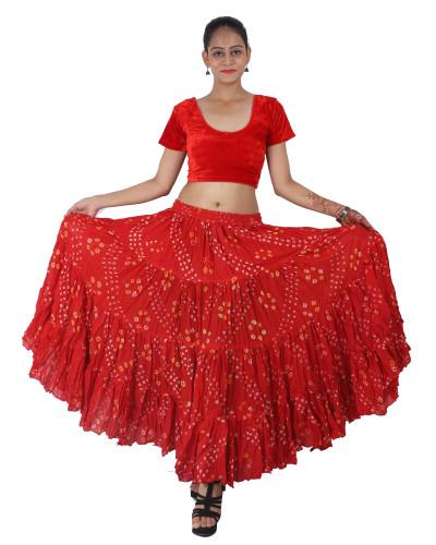 Tribal Group Improv dance polka spotties skirt