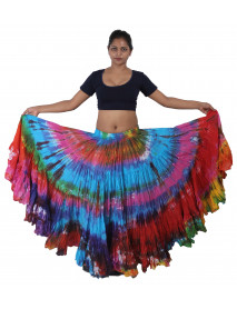 Ultra Gypsy Tribal Belly Dance Tie Dye Skirts