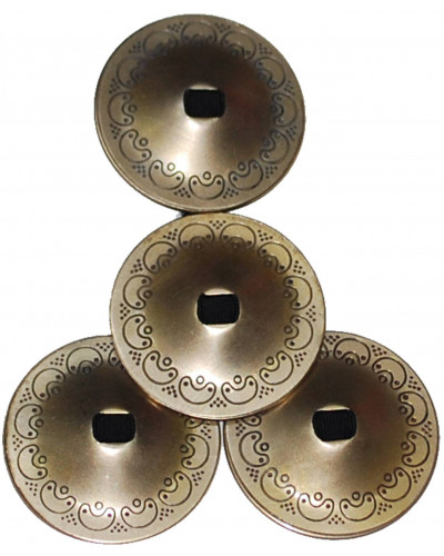 Wholesale 16 Middle Eastern Finger Cymbals