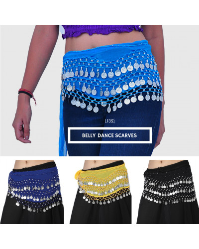 Wholesale 50 Pcs Hip Scarf for Belly Dancing