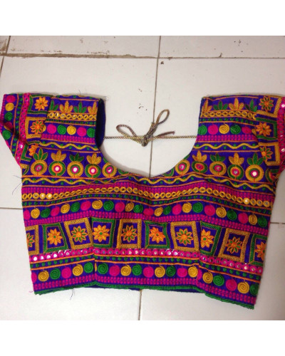 Wholesale Lot of 50 Kutch Embroidery Work Kuchi Blouse