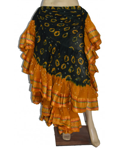 16 Yards New Style Tribal Belly Dance Outfits Skirt