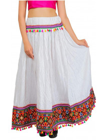 06 Pcs Pack Gypsy Border Ren Fair Skirt
