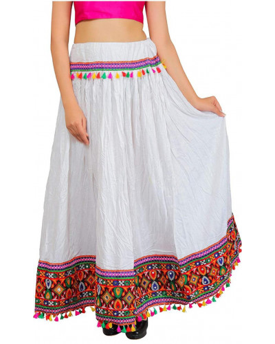 05 Pcs Pack Gypsy Border Ren Fair Skirt