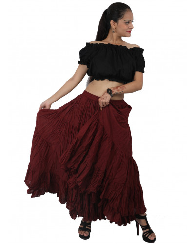 12 Yard Belly Dancing Long Skirt