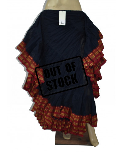 25 yard tribal belly dance Padma skirt products - Single Colours
