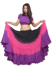 ベリーダンスは、25ヤードスカート