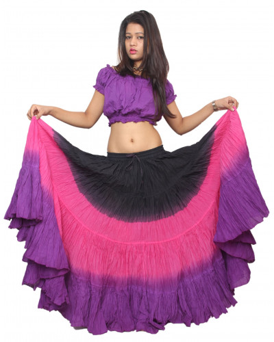 """25 Yard Tribal Skirt 40 Colors 40"""" Inches Long"""