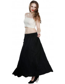02 Women Fashion High Waist Maxi Long Casual Skirt Clearence