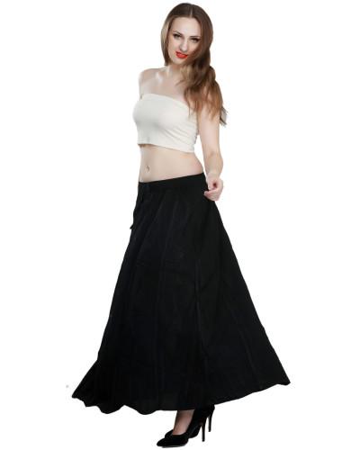 02 Women Fashion High Waist Maxi Long Casual Skirt Clearence