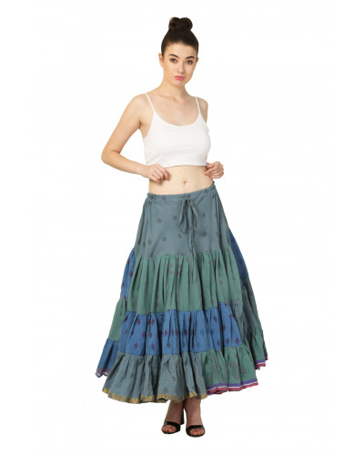 2 Cotton Tribal Vintage pattern Skirt