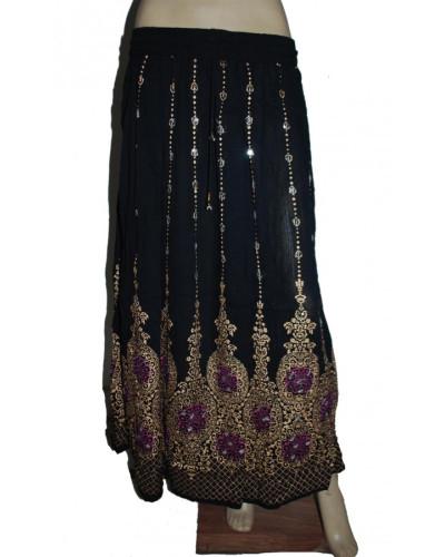 100 New Design Women Long Sequin Skirt