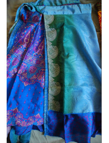 10 SMALL Length Plus Size Wrap Around Sari Skirts