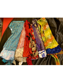 05 Xtra Large Beach sarong wrap saree skirt MEDIUM Length (30XL)