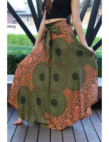 10 Pcs Wholesale Hippies Style Bohemian Long Maxi Thai Skirts